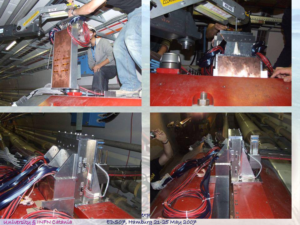 Alessia Tricomi University & INFN Catania The LHCf experiment at LHC EDS07, Hamburg 21-25 May 2007