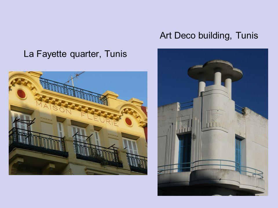 La Fayette quarter, Tunis Art Deco building, Tunis