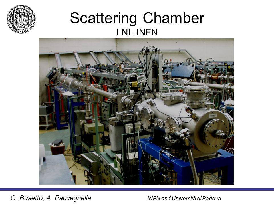 G. Busetto, A. Paccagnella INFN and Università di Padova Scattering Chamber LNL-INFN