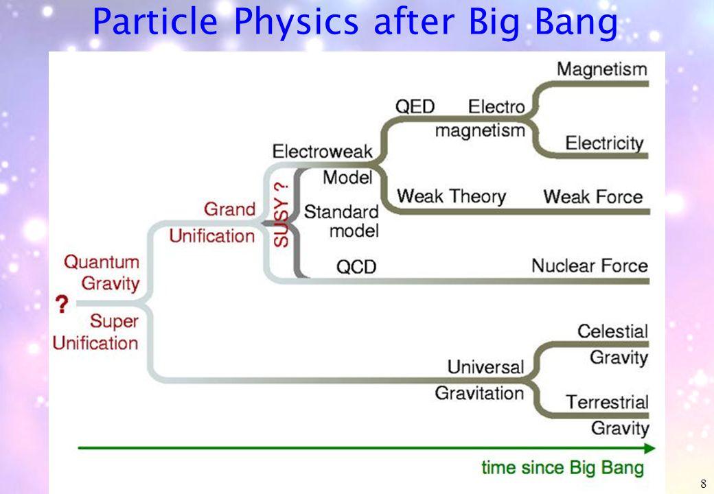 8 Particle Physics after Big Bang