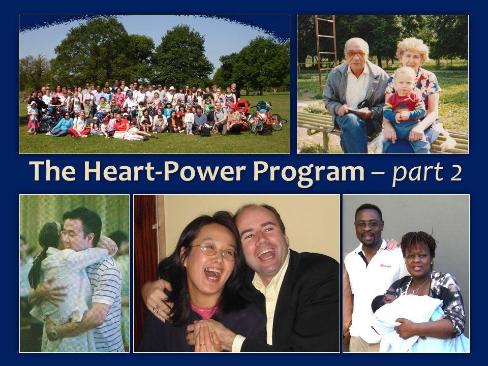 The Heart-Power Program – part 2