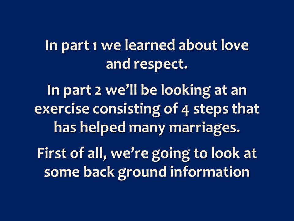 Growing our love and developing it requires action.