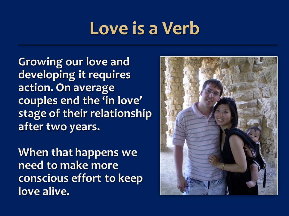 You can keep your relationship well- conditioned, and renew it too: By practicing healthy thinking patterns By consciously behaving in loving ways.