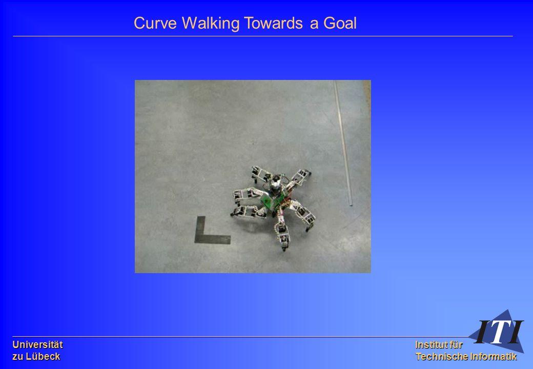 Universität zu Lübeck Institut für Technische Informatik Curve Walking Towards a Goal