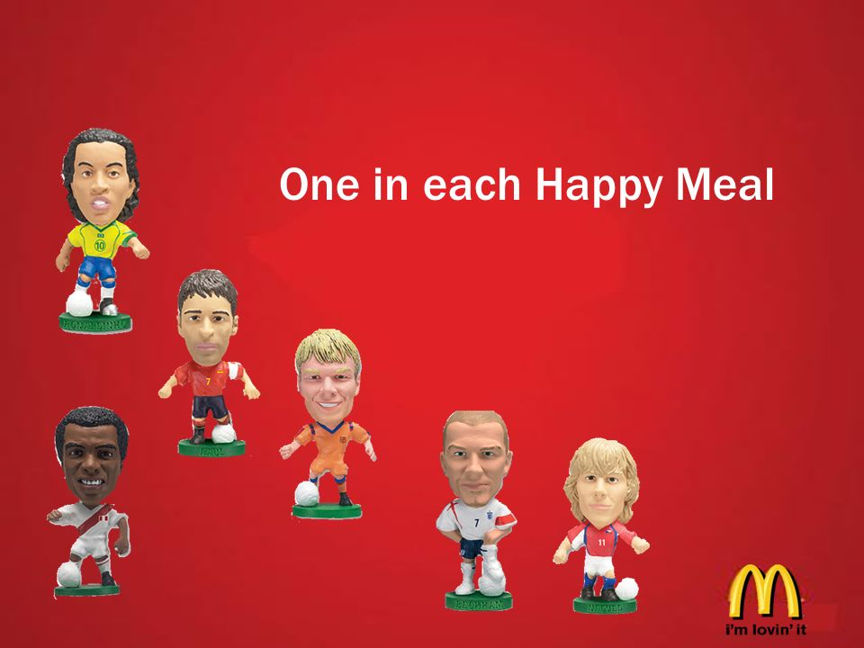 One in each Happy Meal