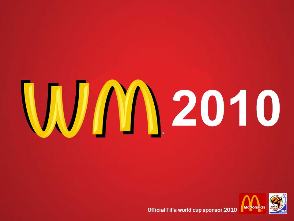 2010 Official FiFa world cup sponsor 2010