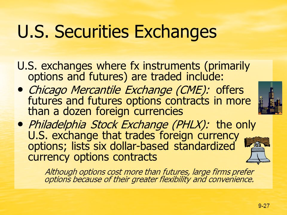 9-27 U.S. Securities Exchanges U.S.