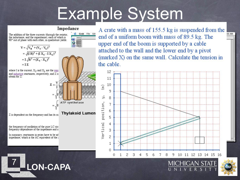 LON-CAPA 7 Example System