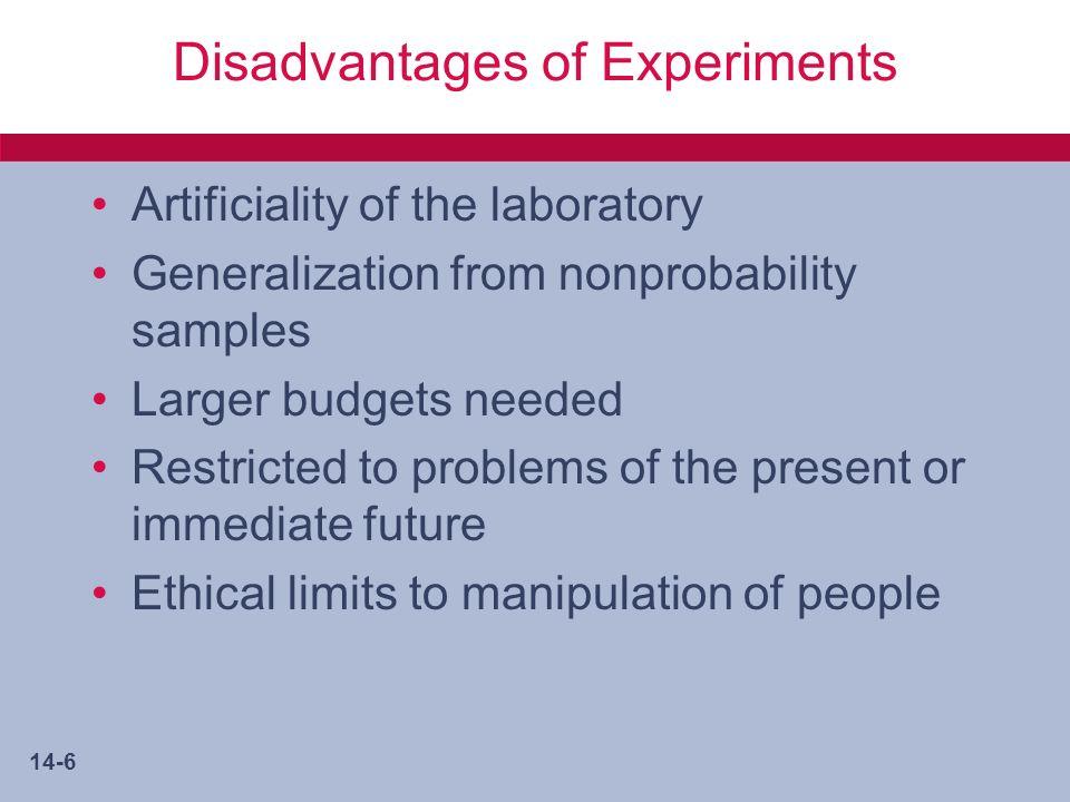 14-17 Field Experiments: Quasi- or Semi-Experiments Non Equivalent Control Group Design Separate Sample Pretest-Posttest Design Group Time Series Design