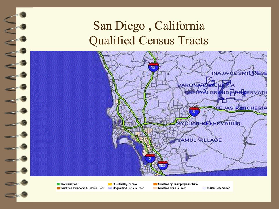 San Diego, California Qualified Census Tracts