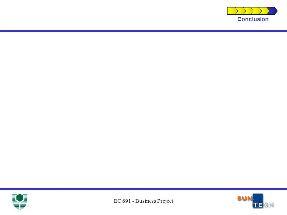 EC 691 - Business Project Conclusion
