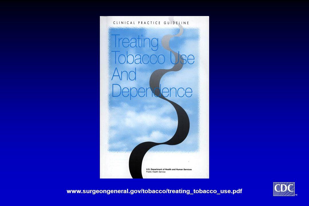 TM www.surgeongeneral.gov/tobacco/treating_tobacco_use.pdf