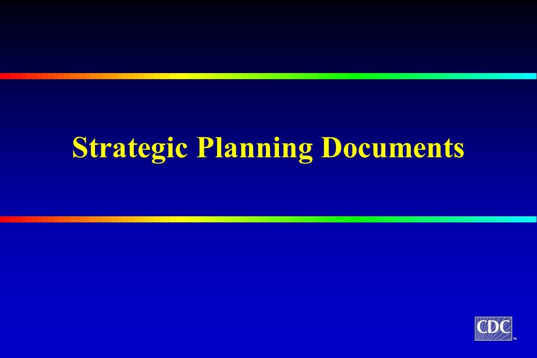 TM Strategic Planning Documents