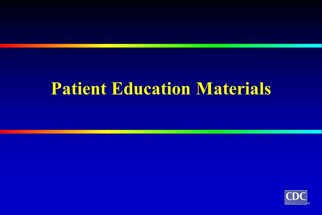 TM Patient Education Materials