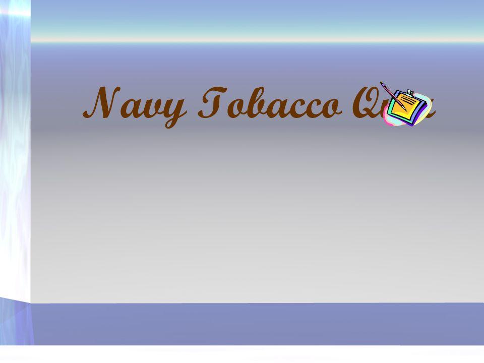 6. How many sailors smoke? A. 50% B. 10% C. 32%
