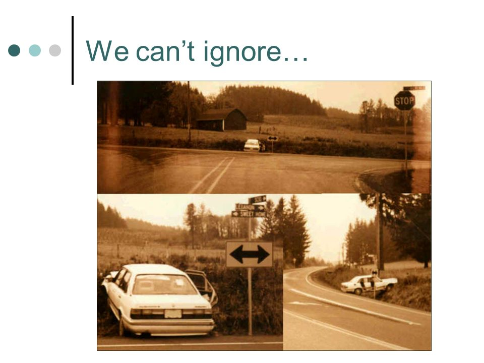 We cant ignore…