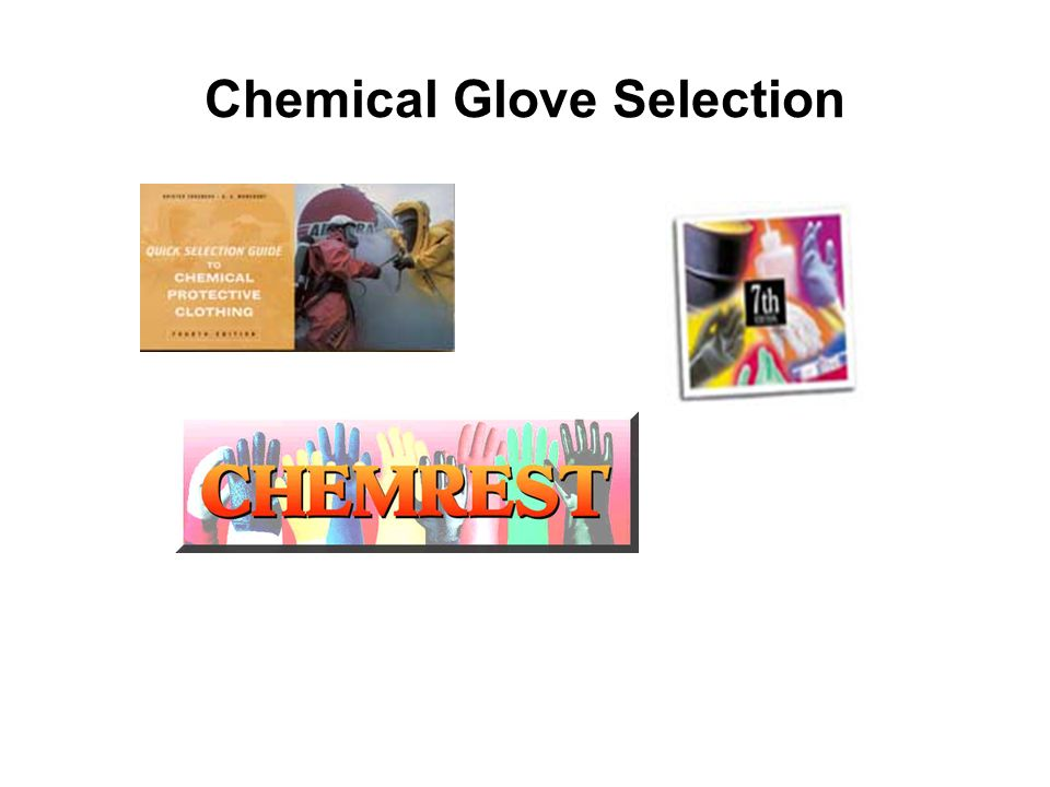 Chemical Glove Selection