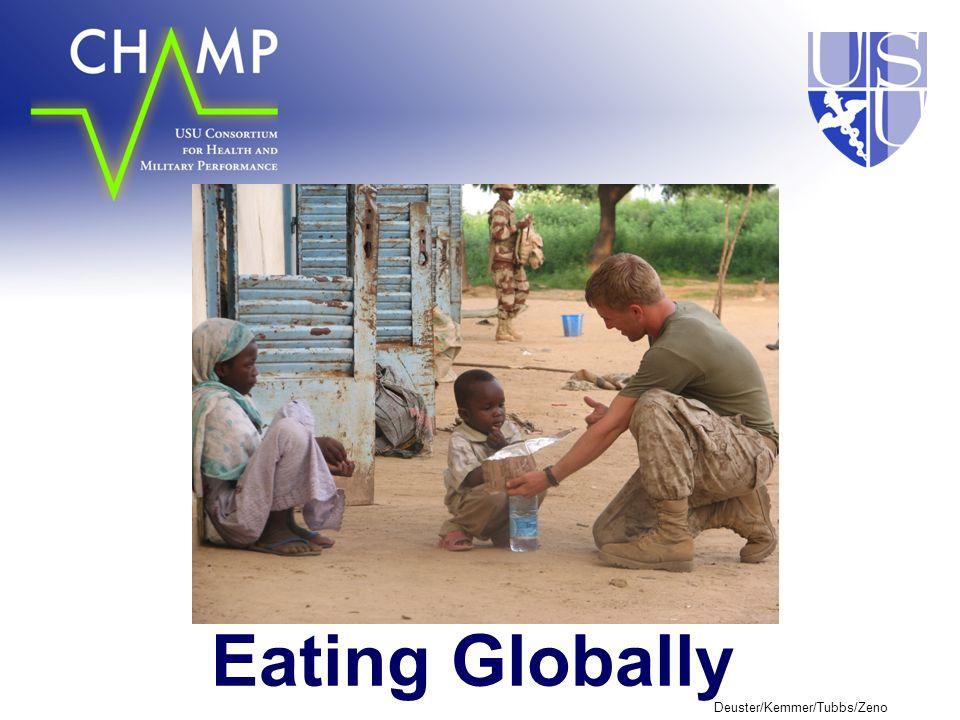 Deuster/Kemmer/Tubbs/Zeno Eating Globally