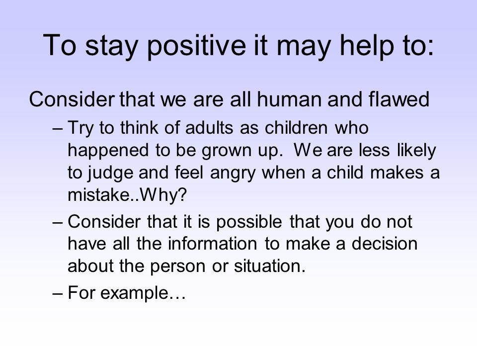 Positive Interpretation .