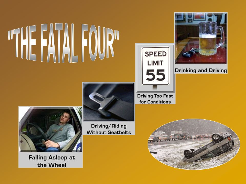 (Percentages) Night Weekend Impaired Speed No Seatbelts Fatigue 42 41 48 67 60 29 Fatal Factors in Traffic Deaths (2002-2005) 0 25 50 75 100 FY-06 NHT