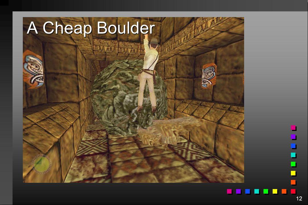 12 A Cheap Boulder