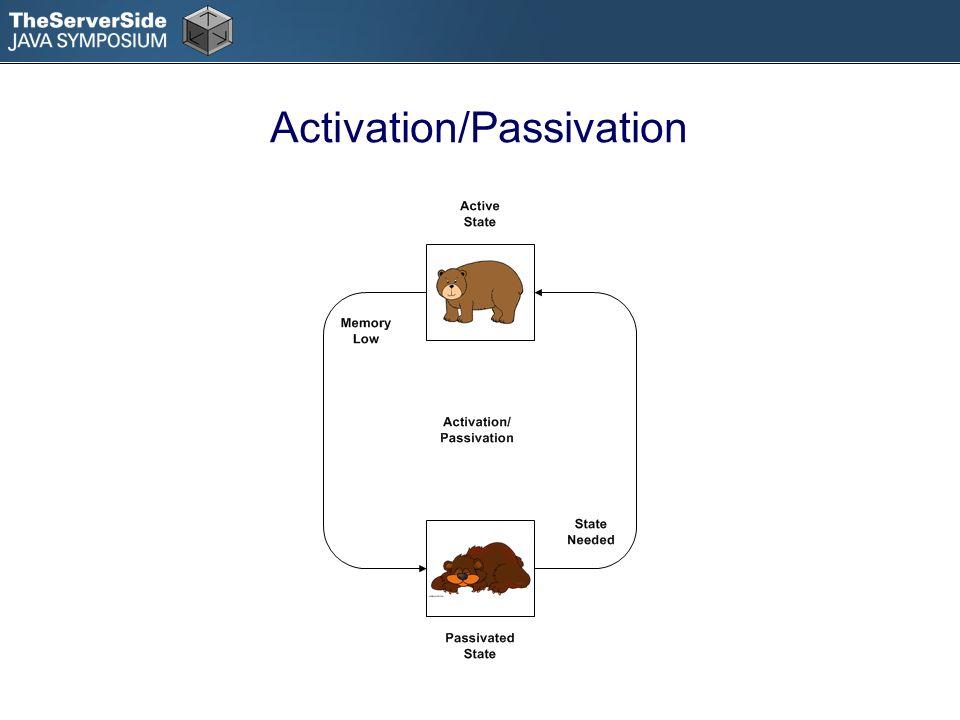 Activation/Passivation