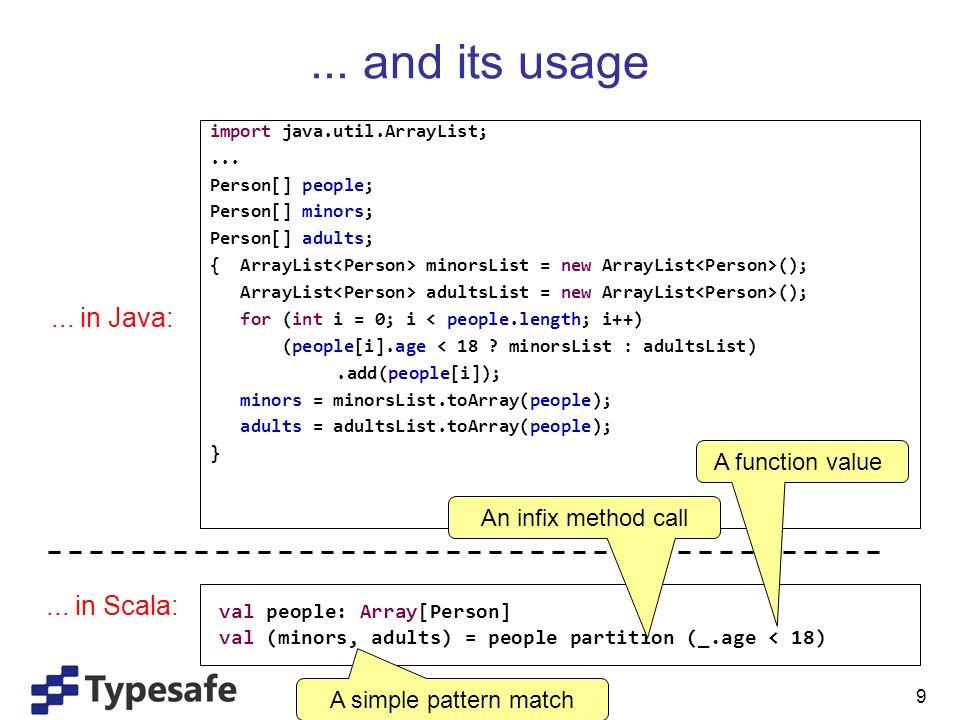 10 Going Parallel ?...in Java:...
