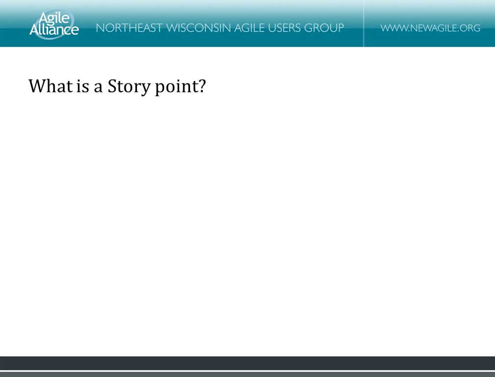 What is a Story point