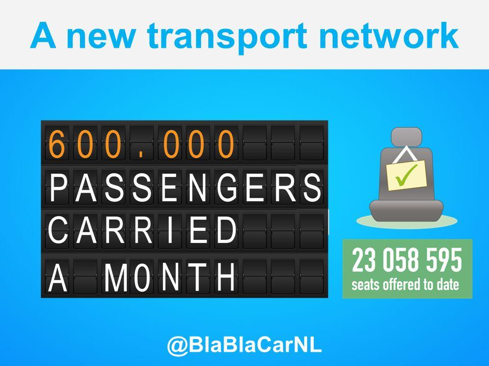 A new transport network @BlaBlaCarNL