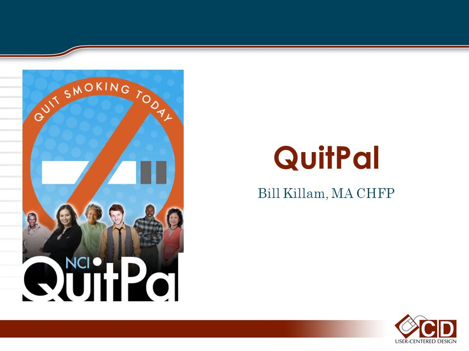 QuitPal Bill Killam, MA CHFP