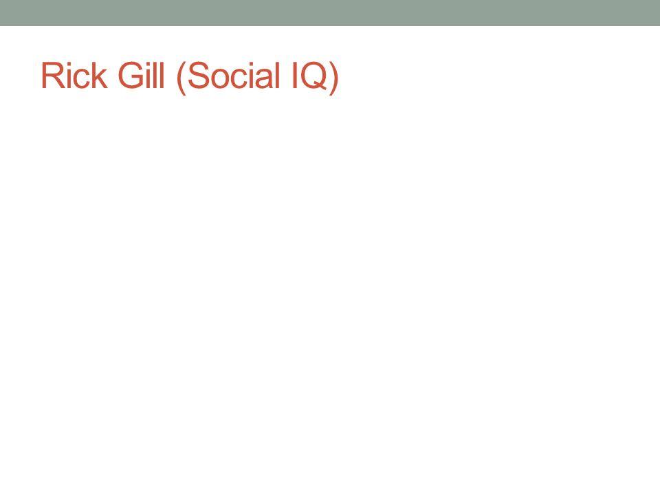 Rick Gill (Social IQ)