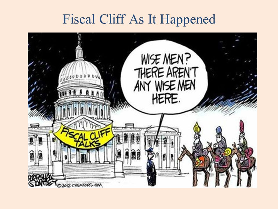 Fiscal Cliff As It Happened