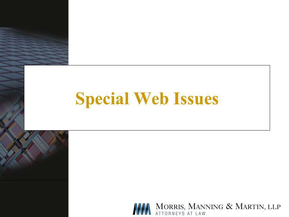 Special Web Issues