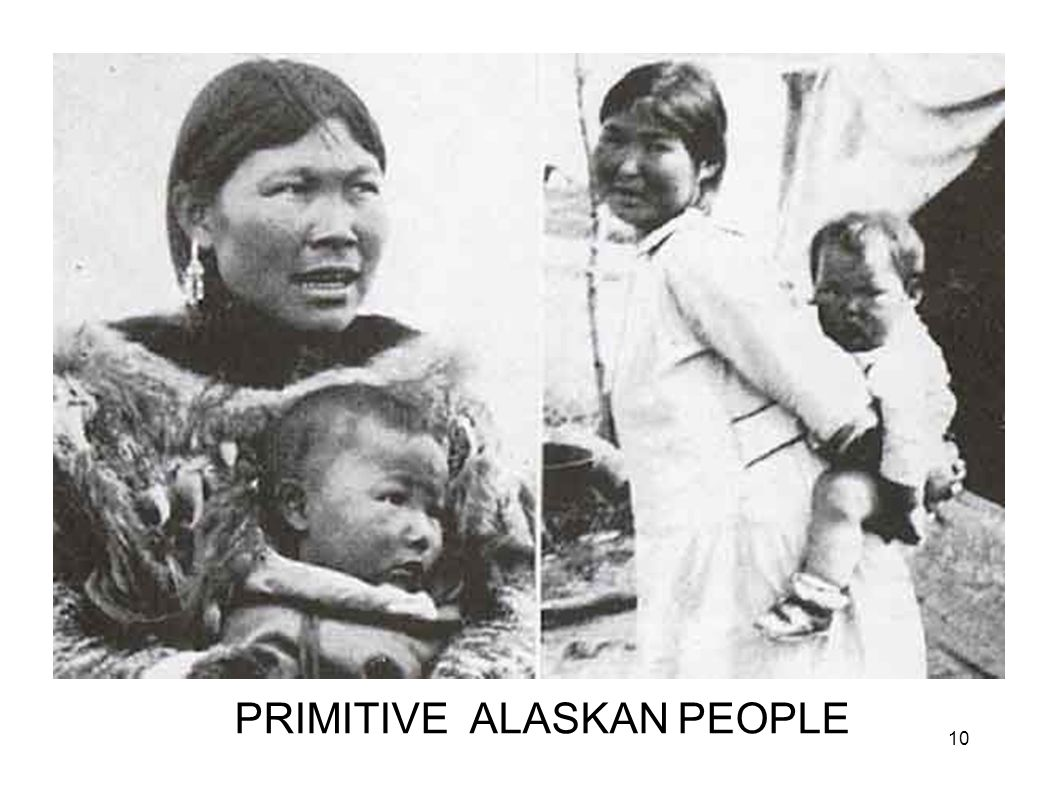 Eskimo Moms PRIMITIVE ALASKAN PEOPLE 10