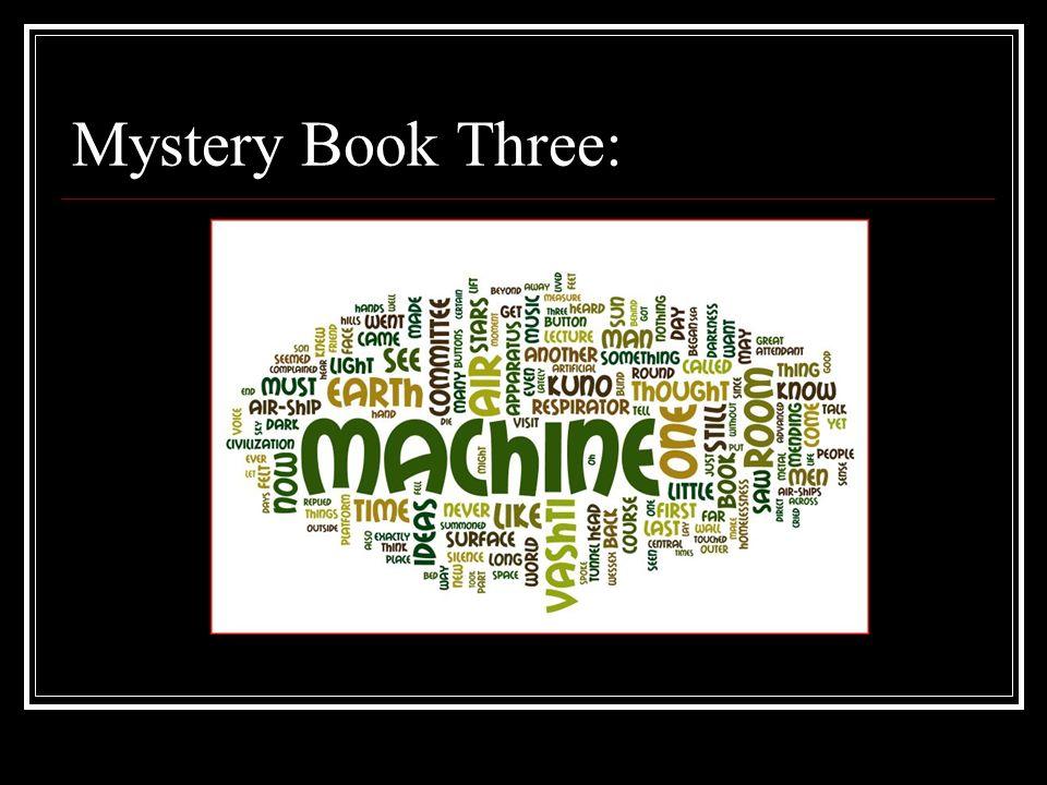 Mystery Book Three: