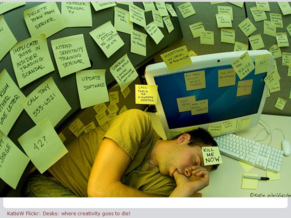 3 20 June 2011| © Brightwave Ltd. 3 KatieW Flickr: Desks: where creativity goes to die!