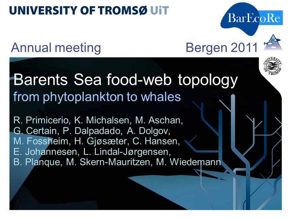 Barents Sea food-web