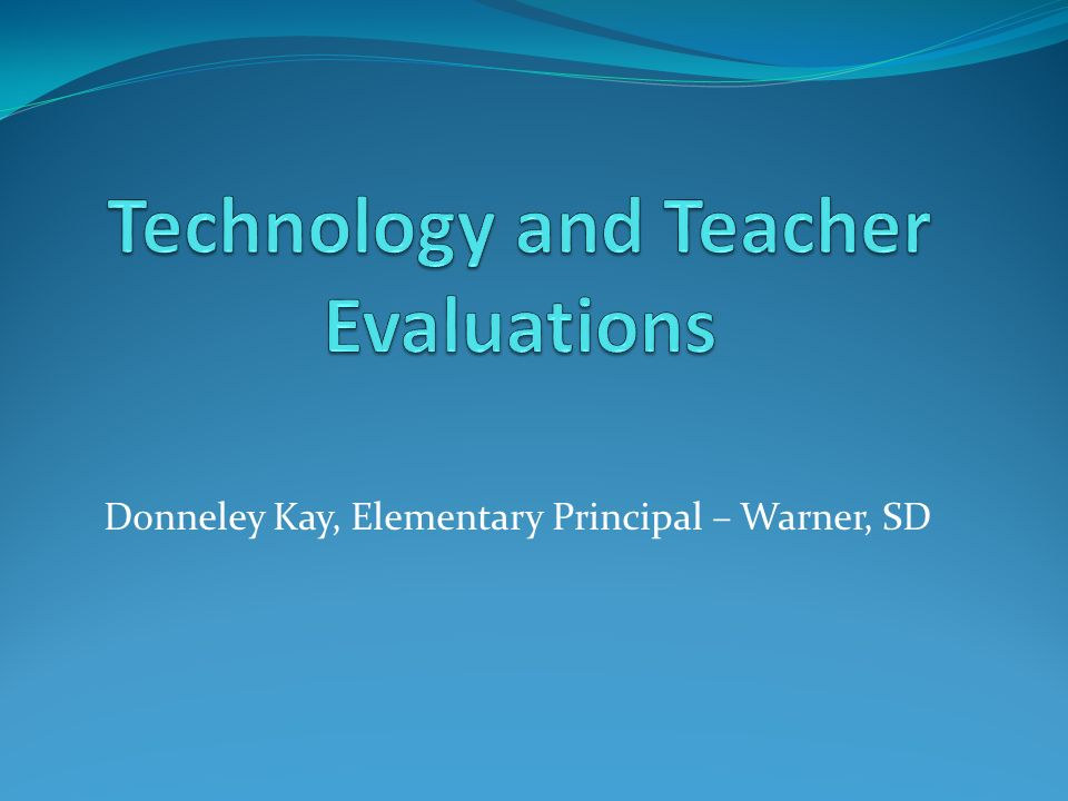 Donneley Kay, Elementary Principal – Warner, SD