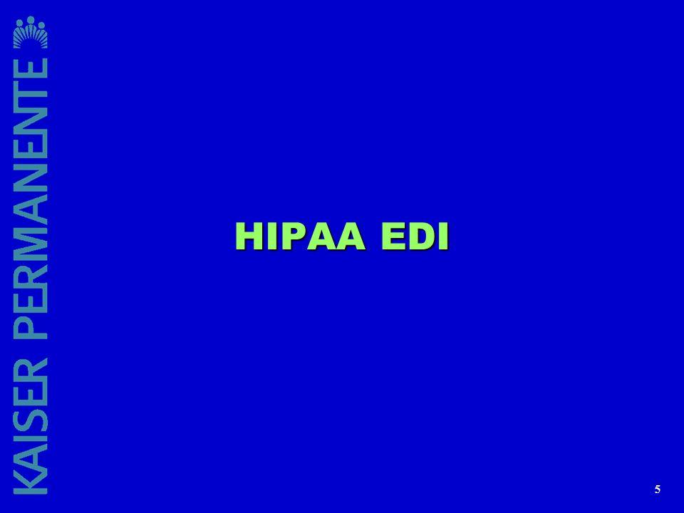 5 HIPAA EDI
