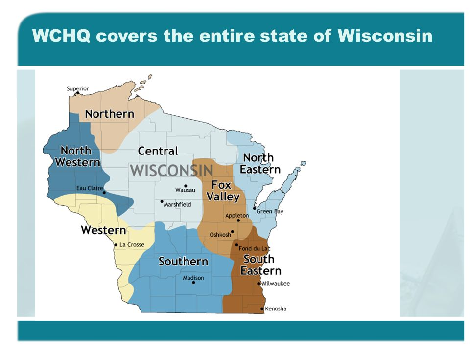 WCHQ covers the entire state of Wisconsin