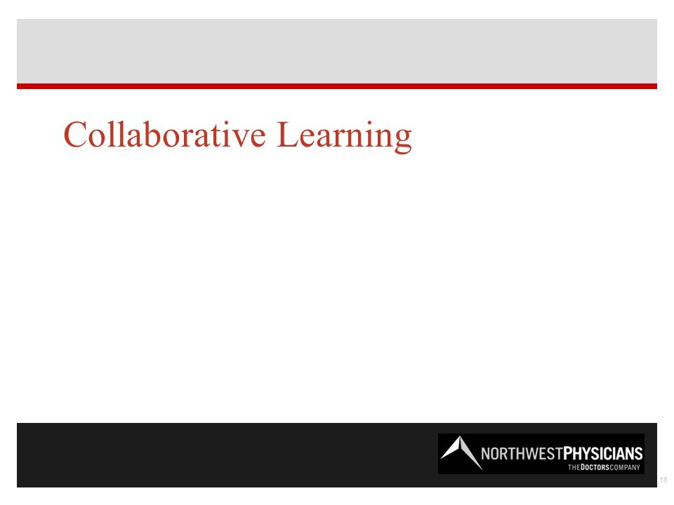 Collaborative Learning 16