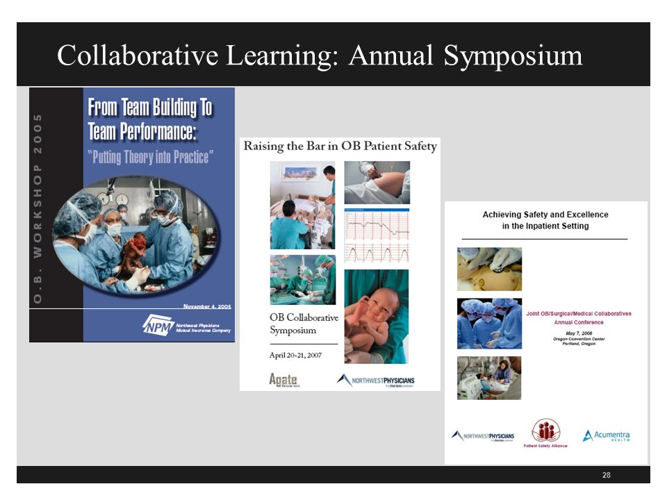 28 Collaborative Learning: Annual Symposium