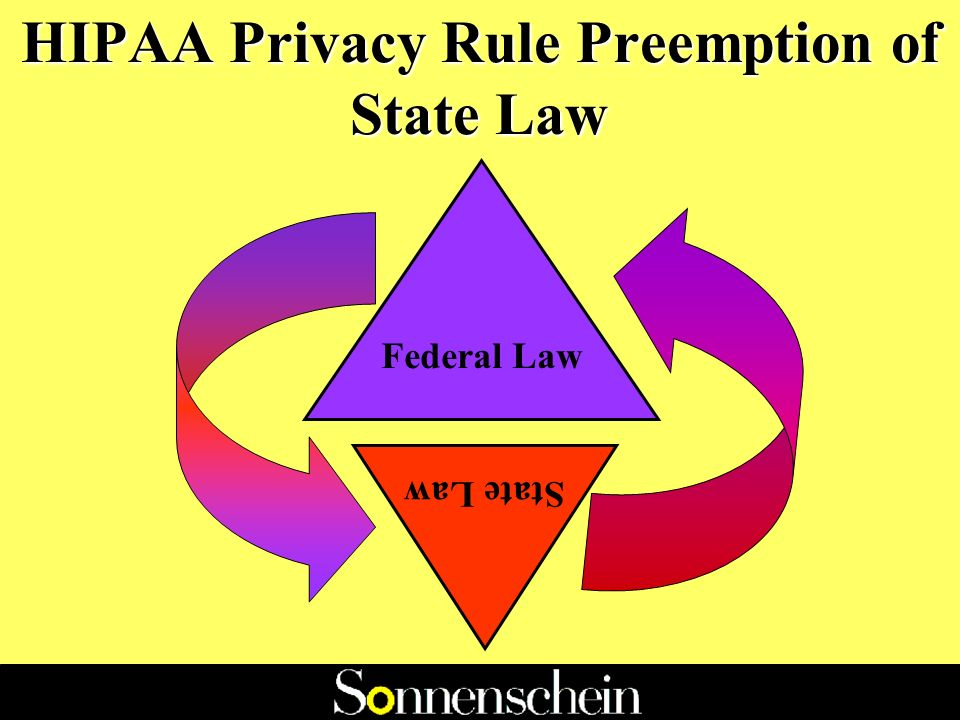 STATE AND FEDERAL PRIVACY LAWS: NAVIGATING THROUGH THE MAZE Jordana G.