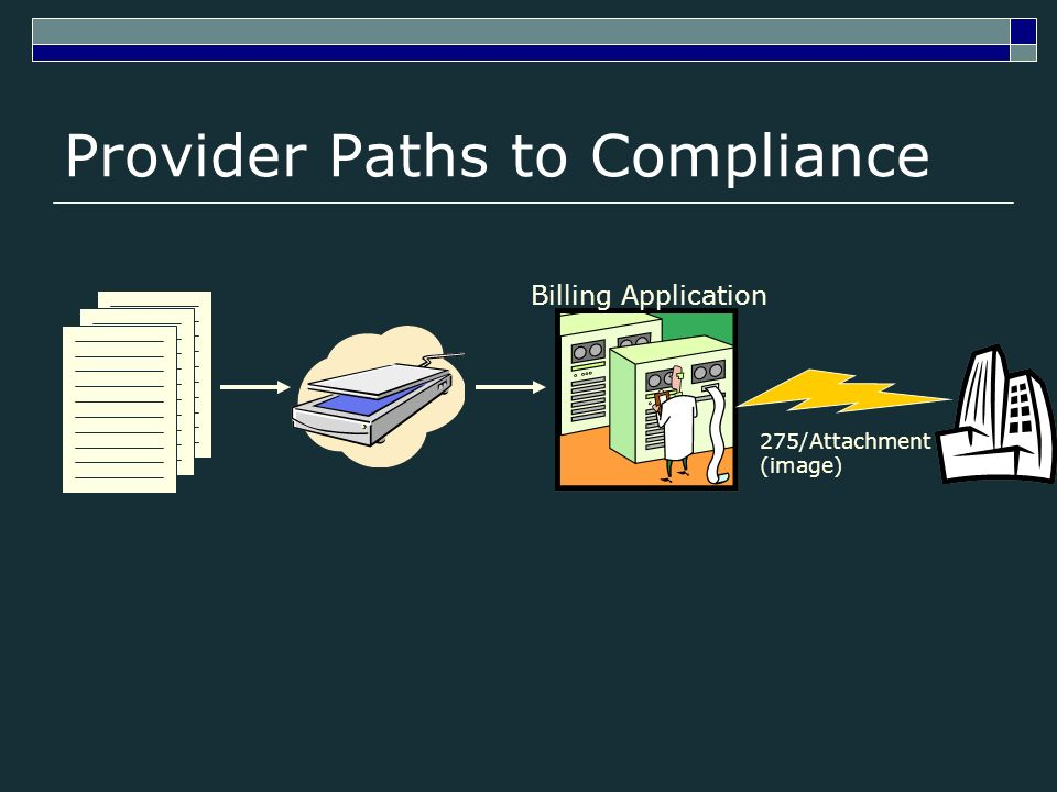 Provider Paths to Compliance Billing Application 275/Attachment (image)