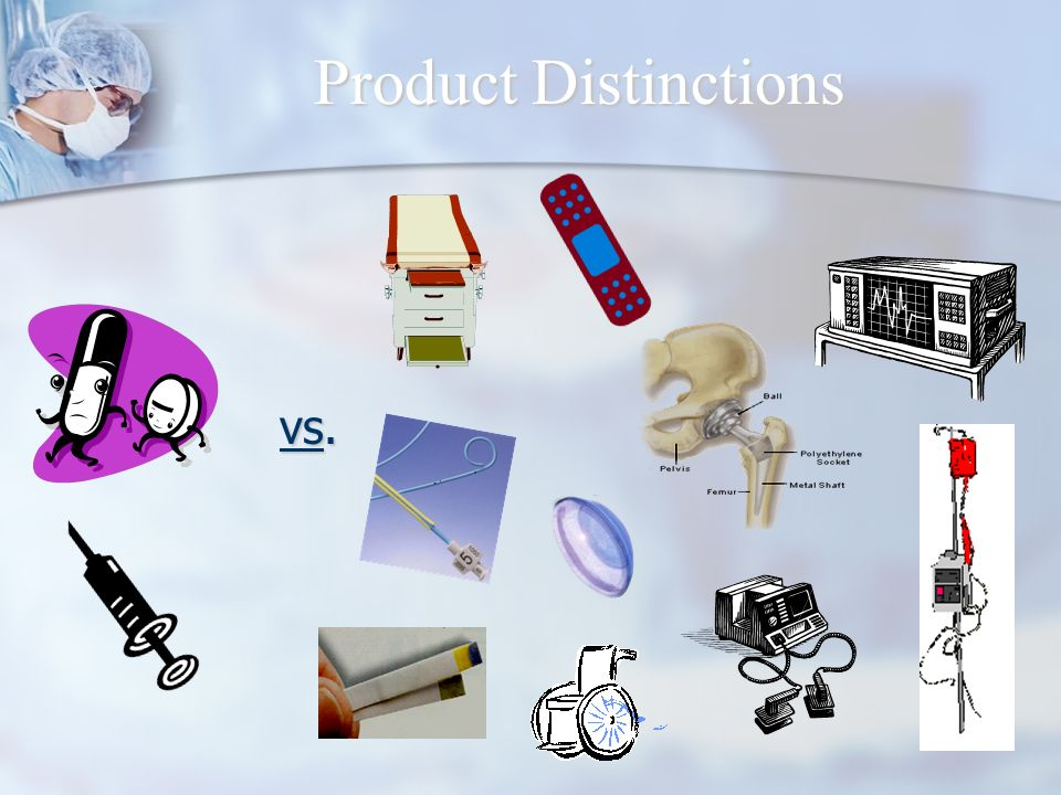 Product Distinctions vs. vs.