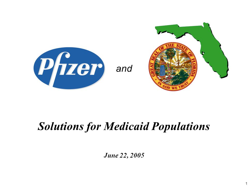 1 and Solutions for Medicaid Populations June 22, 2005