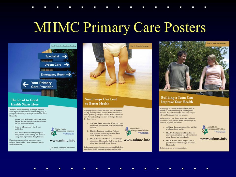 MHMC Primary Care Posters