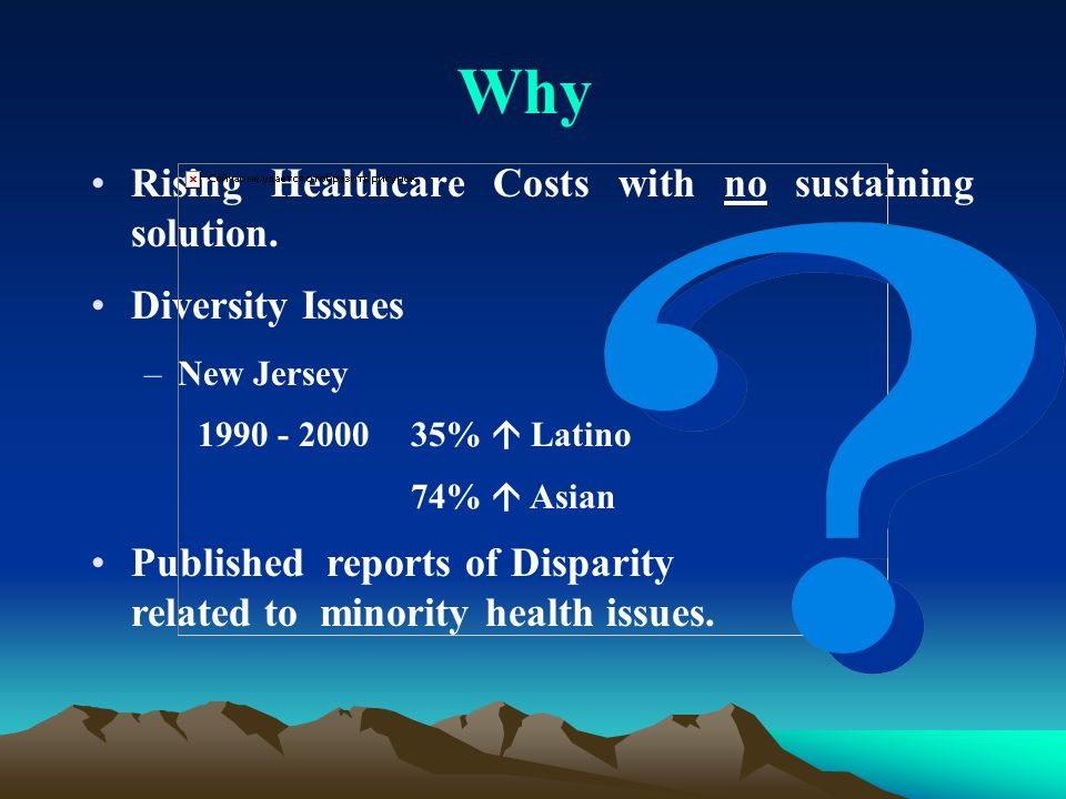 Rising Healthcare Costs with no sustaining solution.