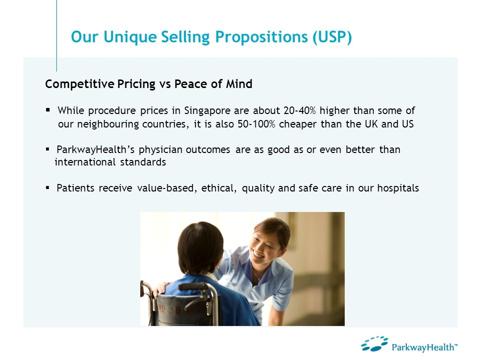 While procedure prices in Singapore are about 20-40% higher than some of our neighbouring countries, it is also 50-100% cheaper than the UK and US Par