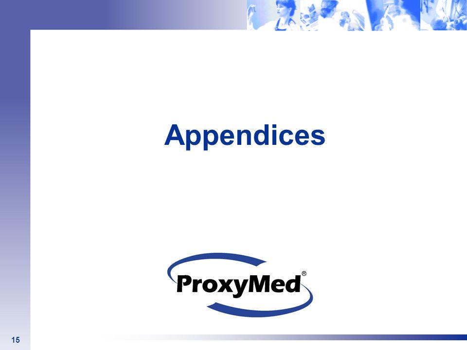Appendices 15